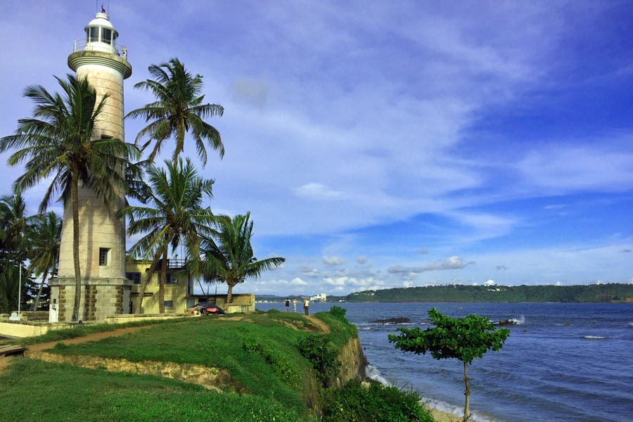 Lighthouse-at-Galle-fort